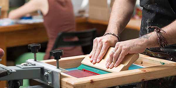 Learn the Craft of Screen Printing for Young Woman (Summer Youth Program)
