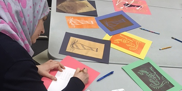 Adult Stamp and Tile Making Program (Free Adult Program)