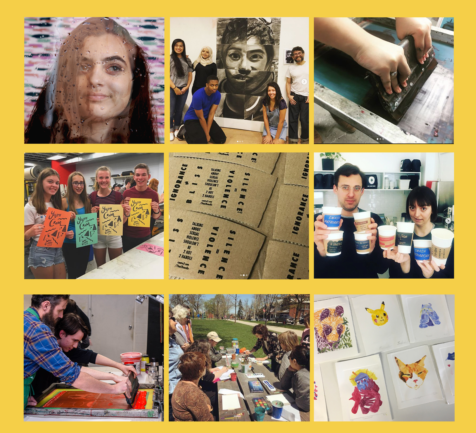 2018-2019 Art Education & Community Arts Exhibition, Enriching the Quality of Life in the Hamilton Community through the Arts