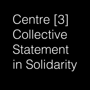 Collective statement in Solidarity