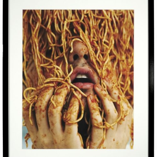 """96. """"Spag"""" by Matty Flader. Photograph, 20.5x28.75"""", 2018."""