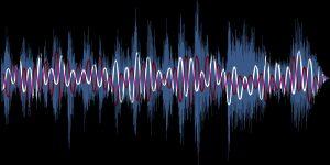 Sound Art graphic - waveform