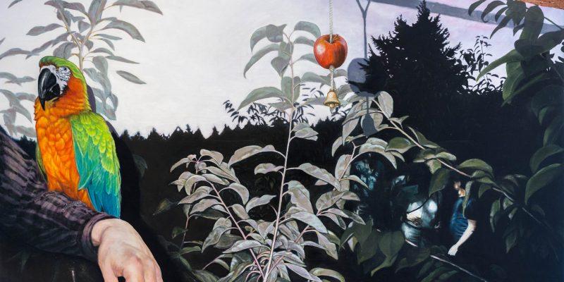 Gabriel Baribeau - Tour of the Jungle - Oil on Canvas