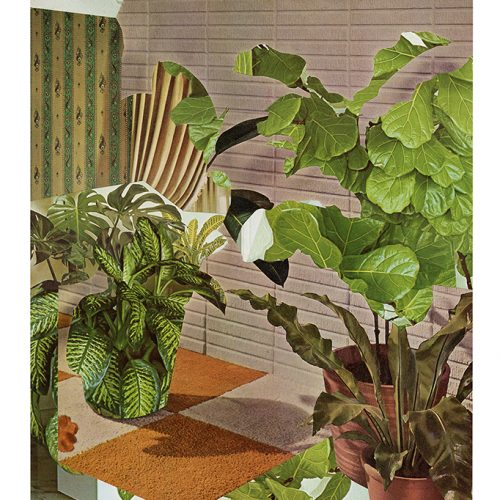 Aimée Henny Brown   / Urban Fortress Interiors 03: Within Closed Terraria /  2020 /  analogue collage