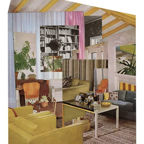 Aimée Henny Brown /  Urban Fortress Interiors 05: From Under the Eaves / 2020 /  analogue collage