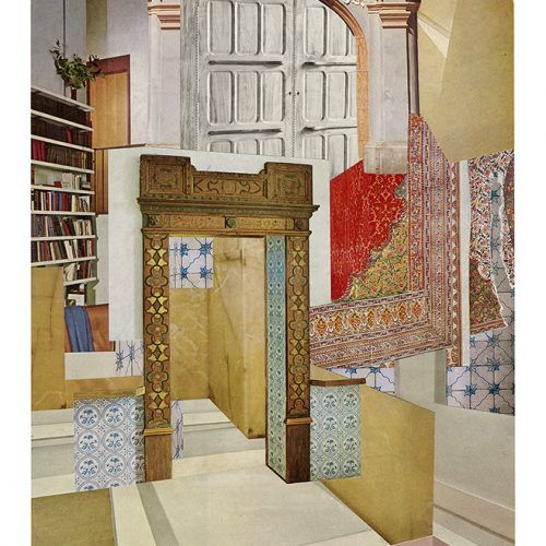Aimée Henny Brown /  Urban Fortress Interiors 06: From Which No Exit is Possible / 2020 /  analogue collage