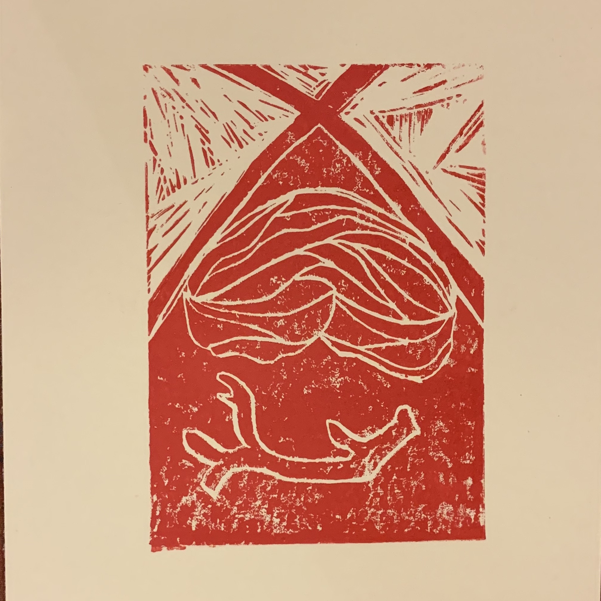 Linocuts and prints made from the last Exchange group