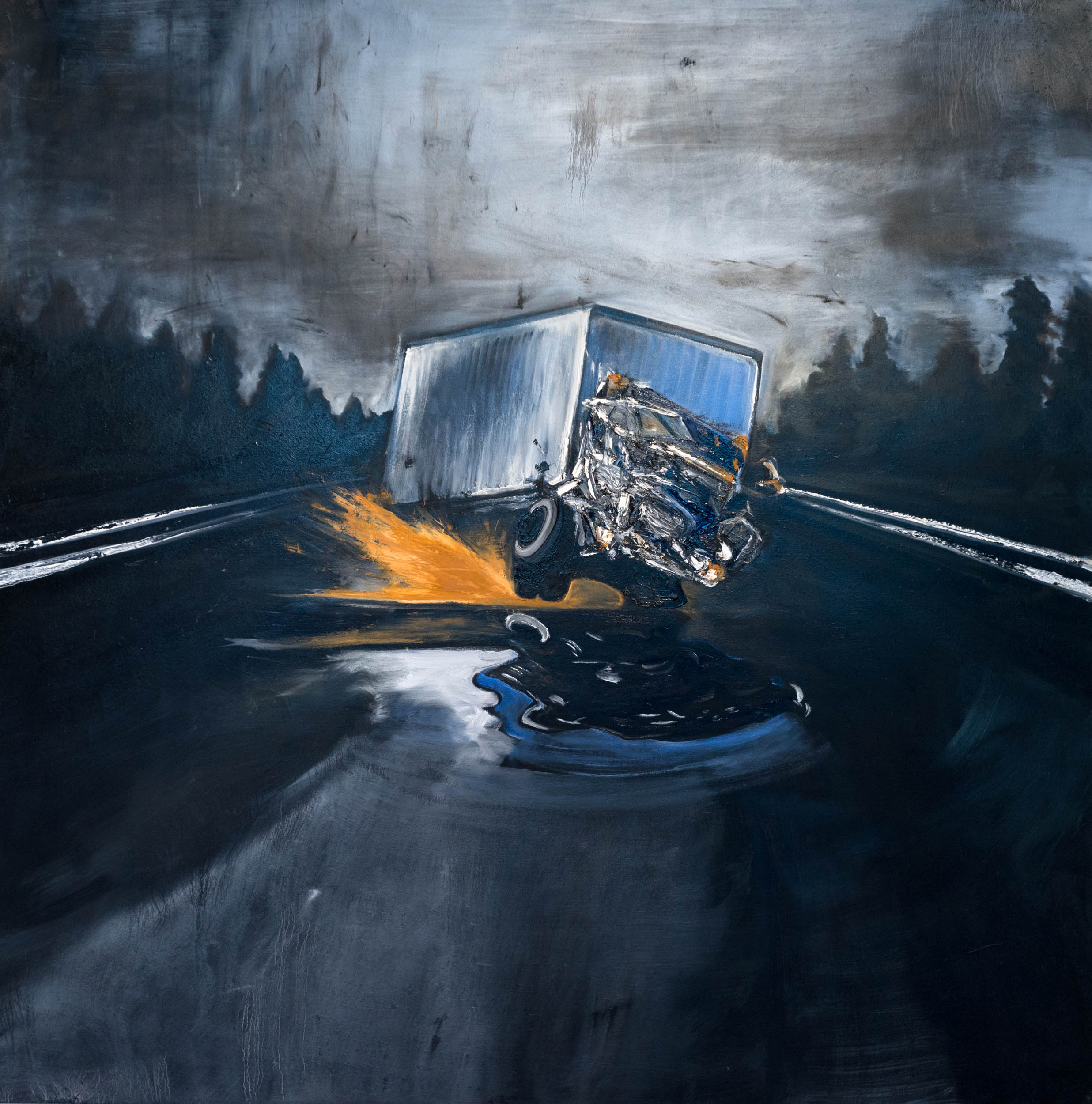 Gabriel Baribeau - Stopped Suddenly - Oil on Canvas