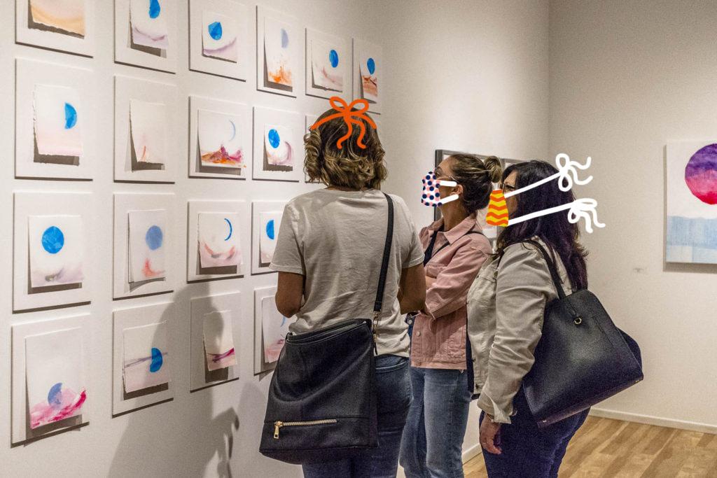 Galleries open