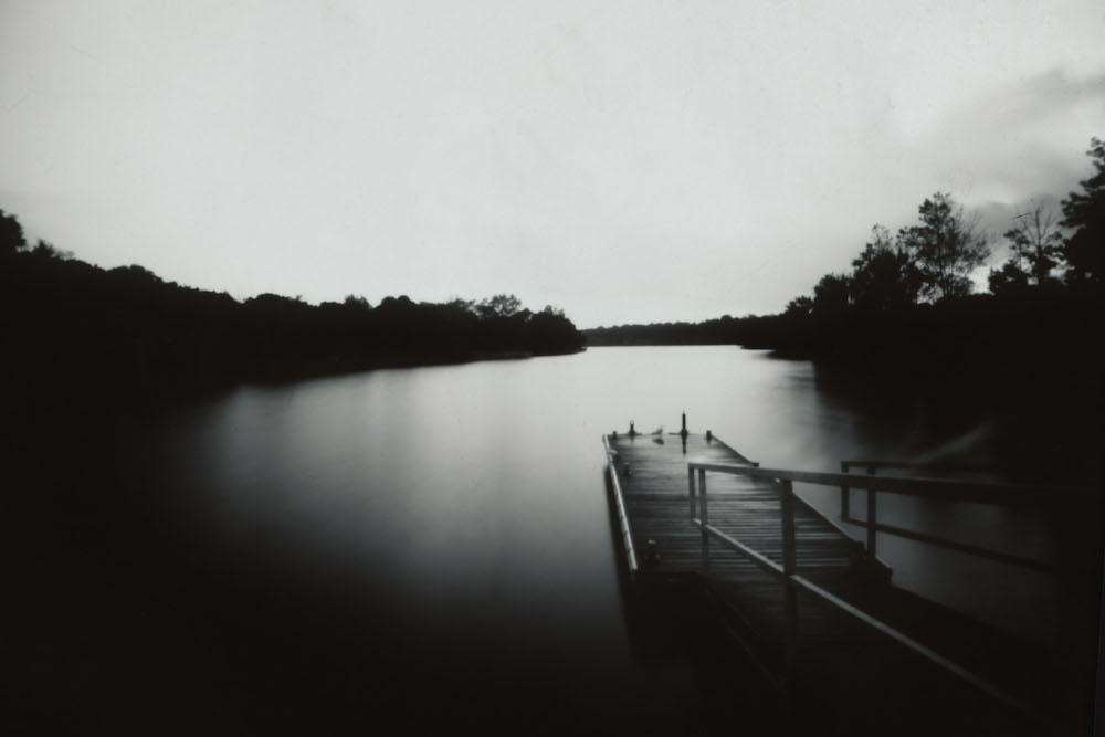 Bayfront, Pinhole Photograph on paper