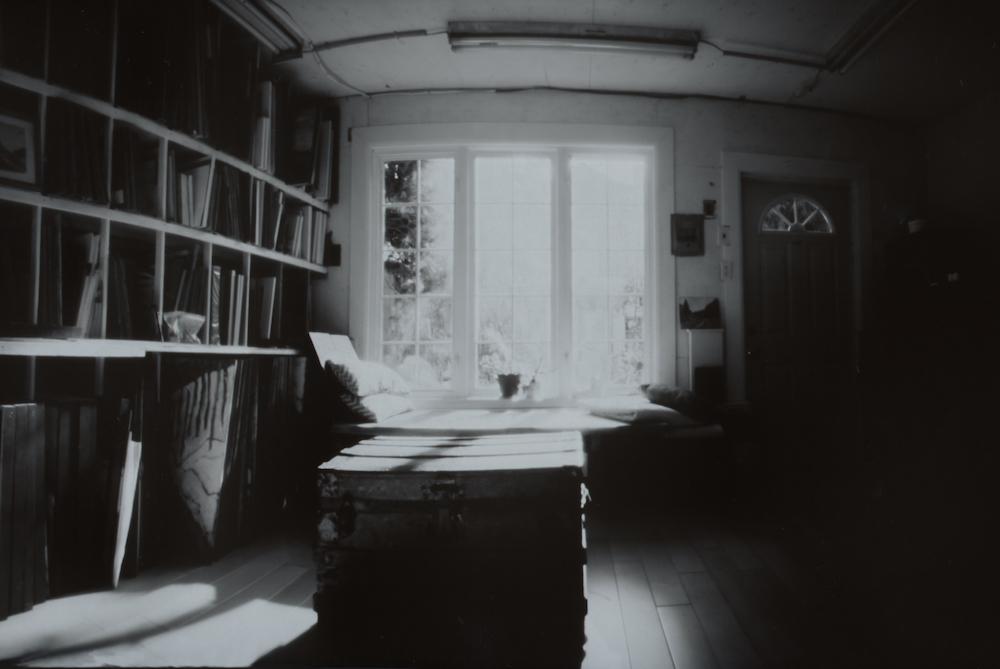 Studio, Pinhole Photograph on paper
