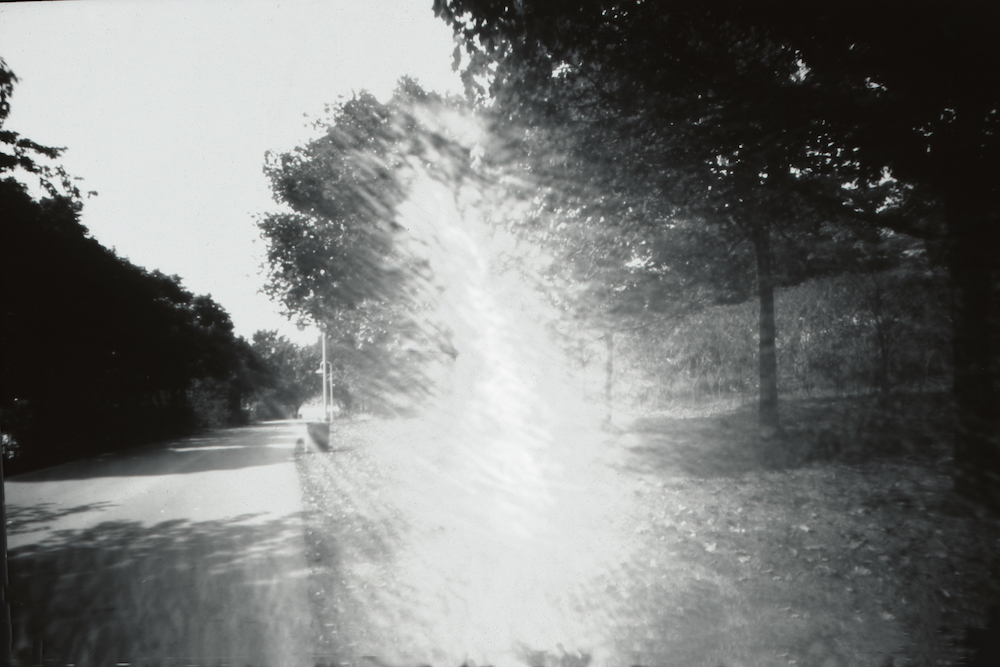 Light Burst, Pinhole Photograph on paper