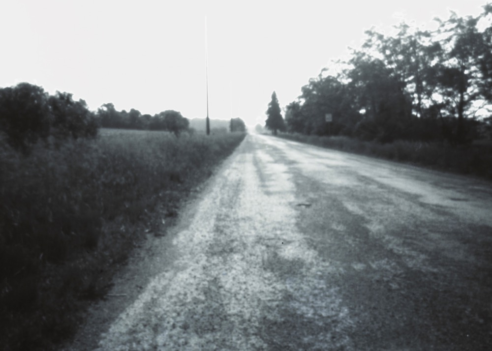 Country Road, Pinhole Photograph on paper
