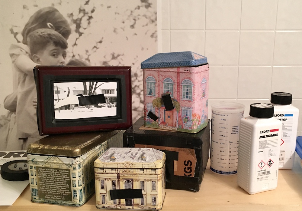Pinhole cameras, used for photo series