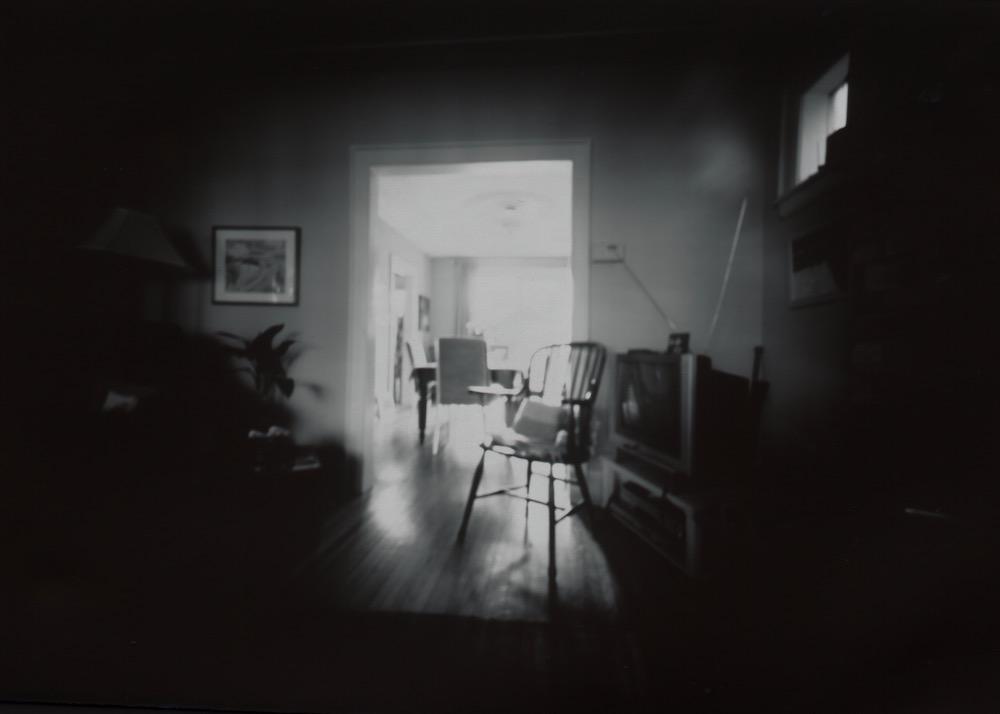 Living Room, Pinhole Photograph on paper