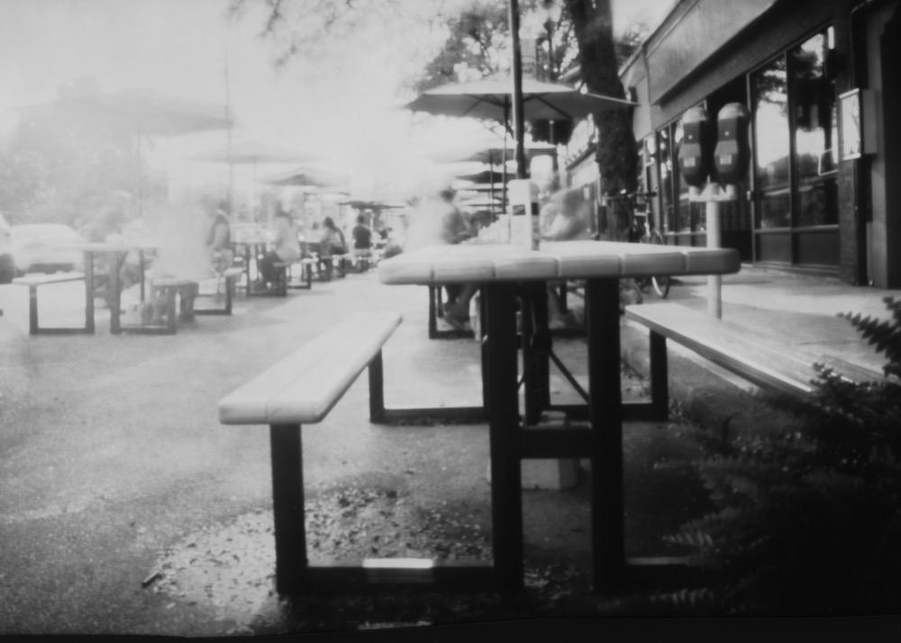 Westdale, Pinhole Photograph on paper